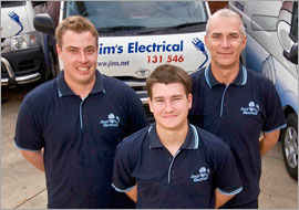 Jim's Electrical - Electrician Team