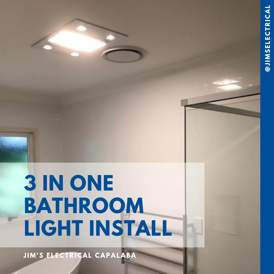 Bathroom Heater Installation Jims Electrical Qualified Electricians Wiring A Ceiling Light Recent By The Team