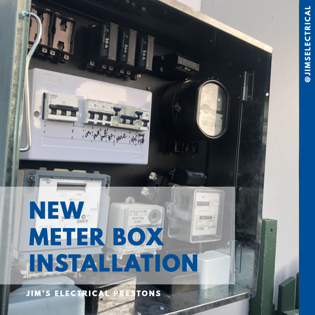 Meter Box Relocation - Jim's Electrical qualified Electrician's on a cable box, a panel box, a golden box, a nickelodeon box, a tornado box, a frame box, a power box, a spring box,