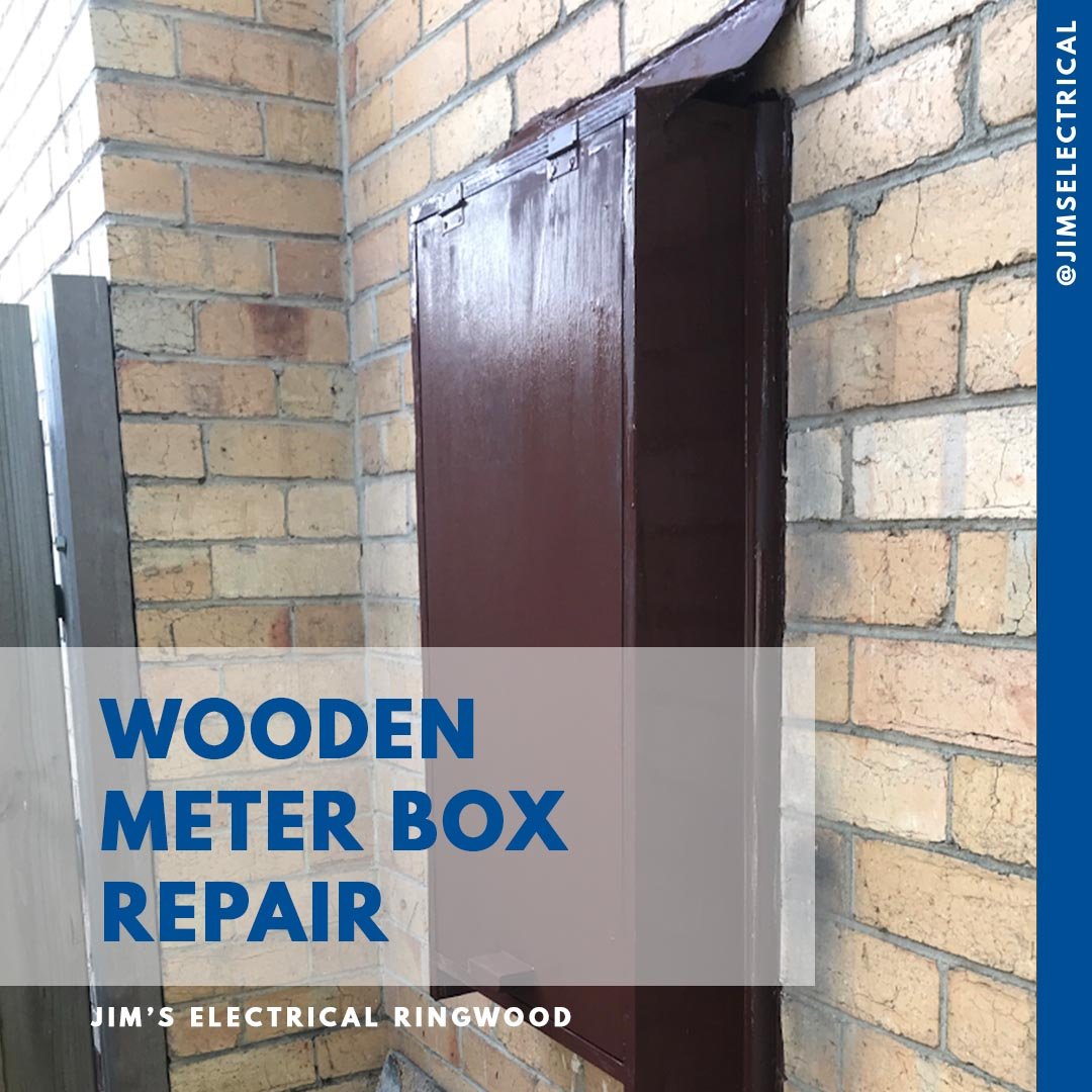 Meter Box Relocation - Jim's Electrical qualified Electrician's